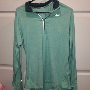 Womens Nike Dri Fit Quarter-zip, Medium
